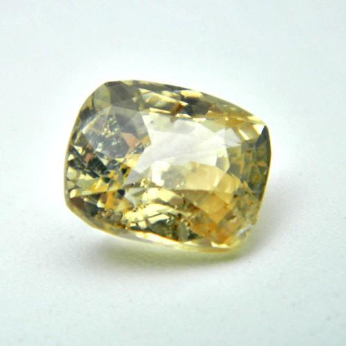 4.72 Carat Natural Yellow Sapphire (Pukhraj) Gemstone