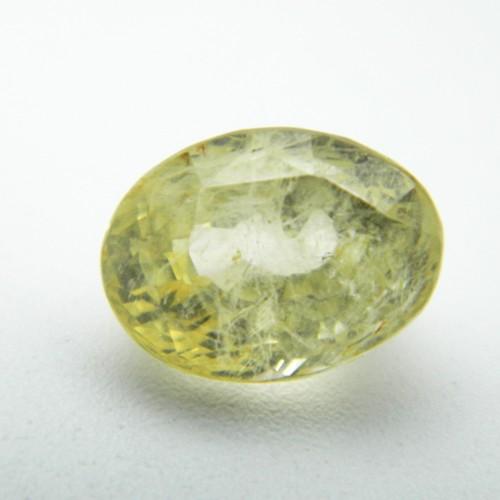 7.63 Carat Natural Yellow Sapphire (Pukhraj) Gemstone