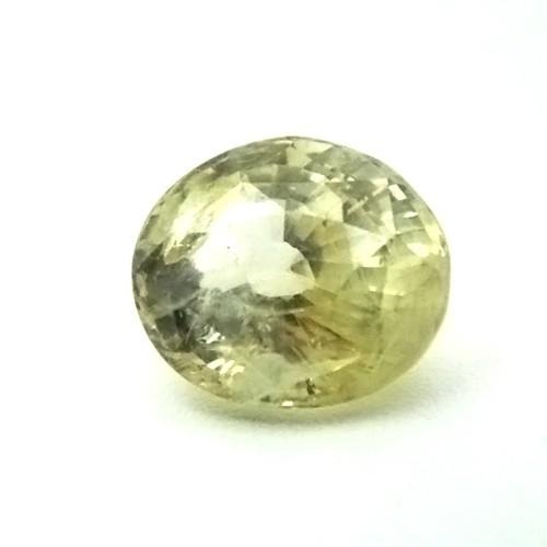 6.04 Carat Natural Yellow Sapphire (Pukhraj) Gemstone
