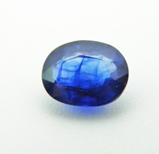 2.90 Carat Natural Blue Sapphire (Neelam) Gemstone