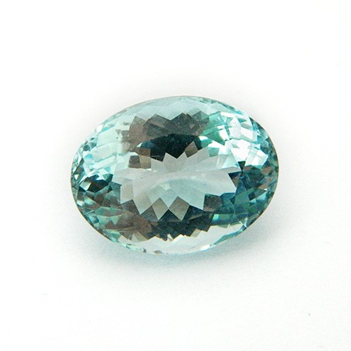 5.02 Carat Oval Mix Natural Aquamarine Gemstone