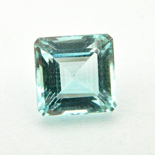 5.17 Carat Octagon Step Natural Aquamarine Gemstone