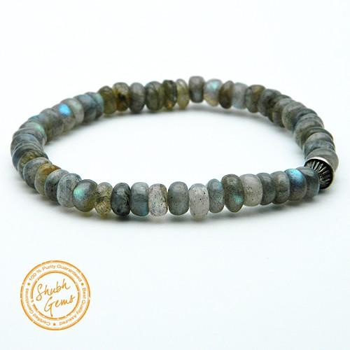labradorite Gemstone Bracelet