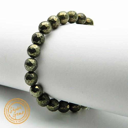 pyrite Gemstone Bracelet
