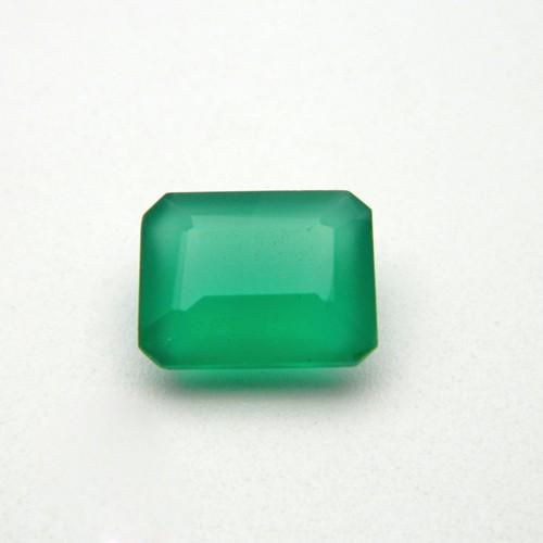 6.30 Carat Natural Green Onyx Gemstone