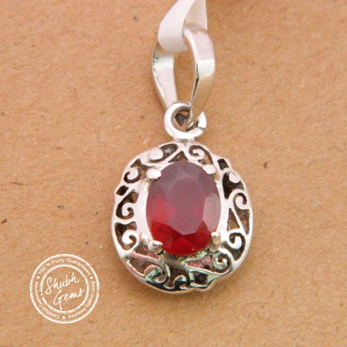 Hessonite (Gomed) (Gomed) garnet  Gemstone   Pendant