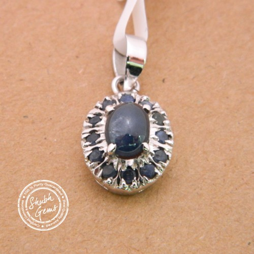 Blue Sapphire (Neelam)  Gemstone   Pendant