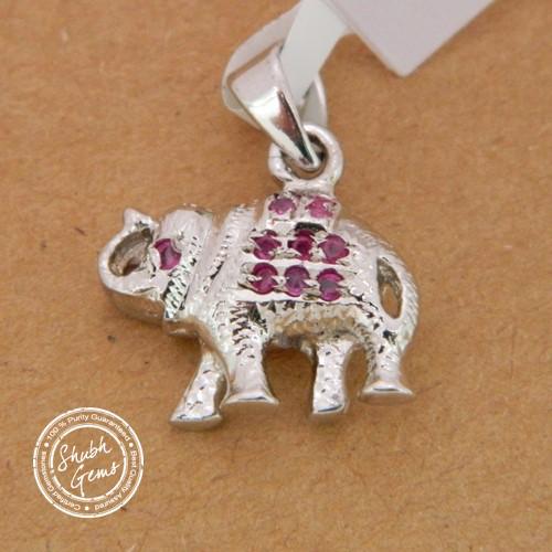 Ruby (Manik)  Gemstone   Pendant
