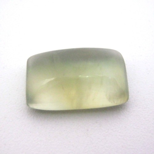 7.39 Carat Cushion Cabochon Natural Prehnite Gemstone