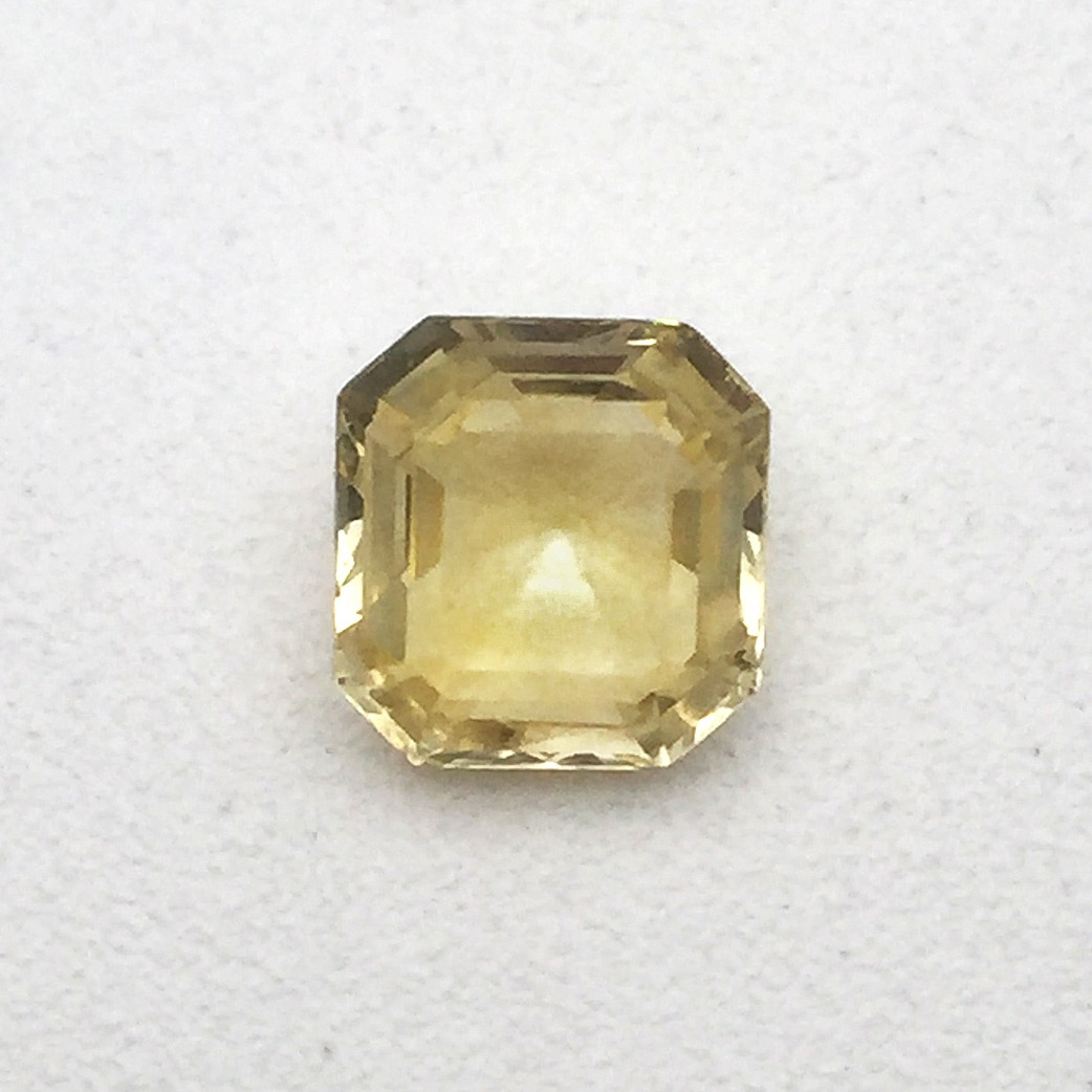 1.65 Carat Natural Yellow Sapphire (Pukhraj) Gemstone Price