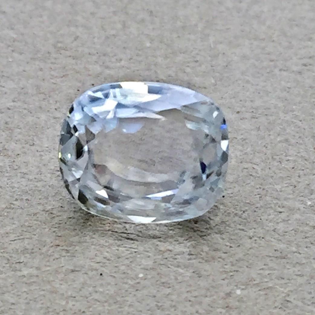 4.94 Carat Natural White Zircon Gemstone