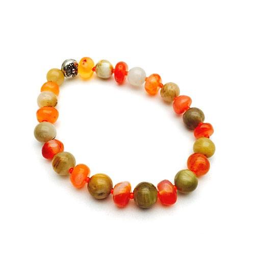 Natural Multi Color Healing Crystal Bracelet