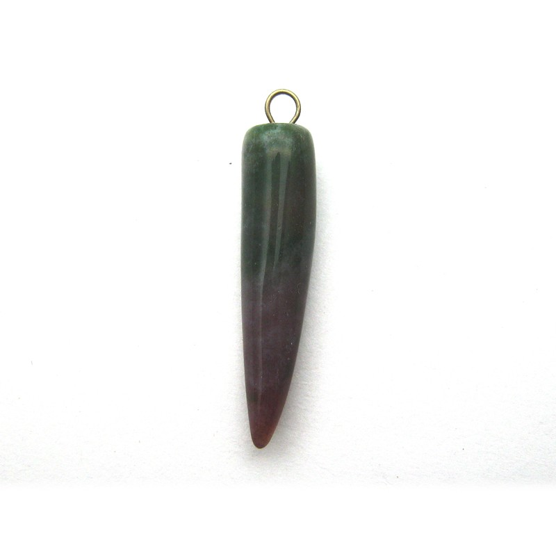 Natural Bloodstone Pendant