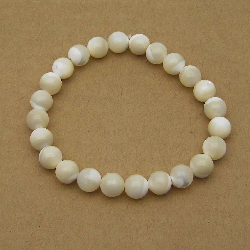 Natural Mother Pearl Beads Bracelet