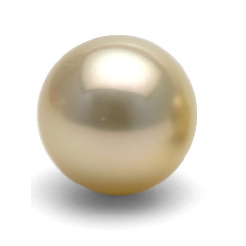 6.45 Carat / 7.15 Ratti Golden South Sea Pearl Gemstone