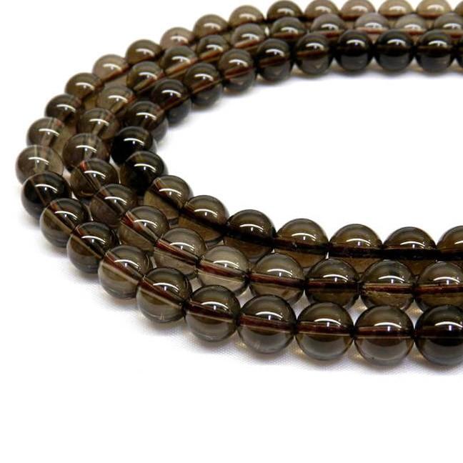 Natural Smoky Quartz AAA Quality Gemstone Beads String
