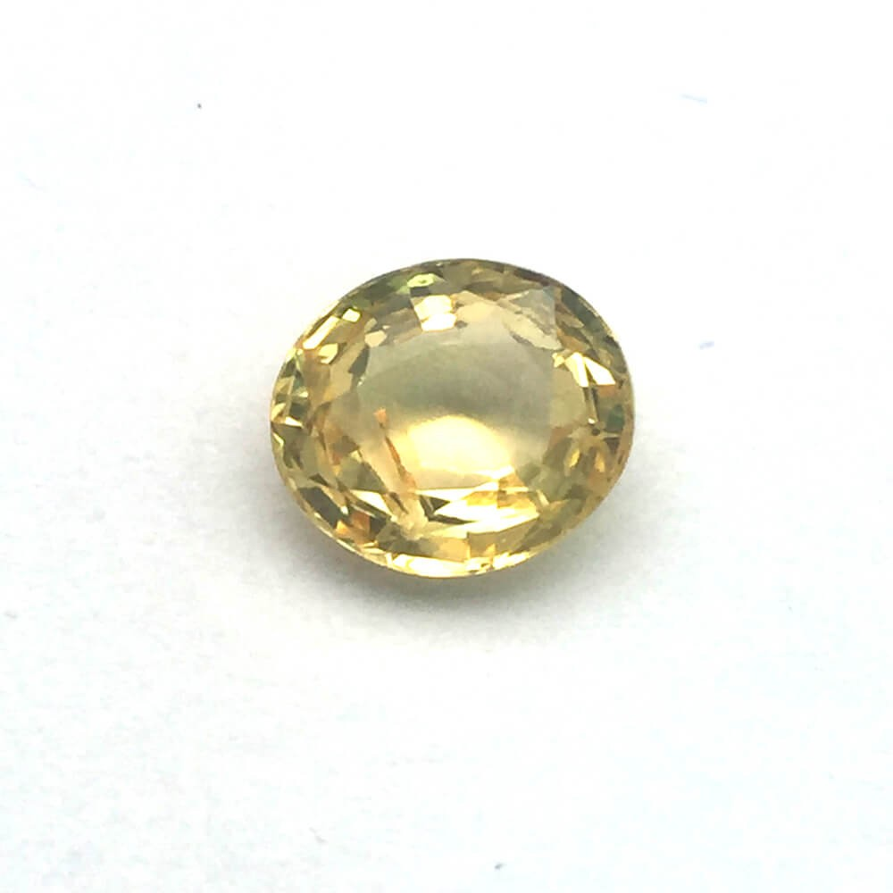 2.42 Carat Natural Ceylon Yellow Sapphire (Pukhraj) Gemstone