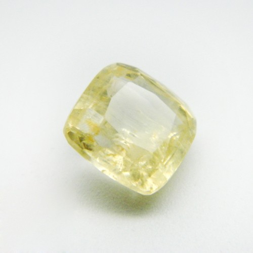 6.68 Carat Natural Yellow Sapphire Gemstone