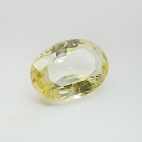 4.97 Carat Natural Yellow Sapphire Gemstone