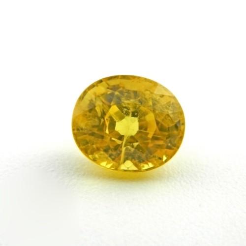 2.51 Carat Natural Yellow Sapphire Gemstone