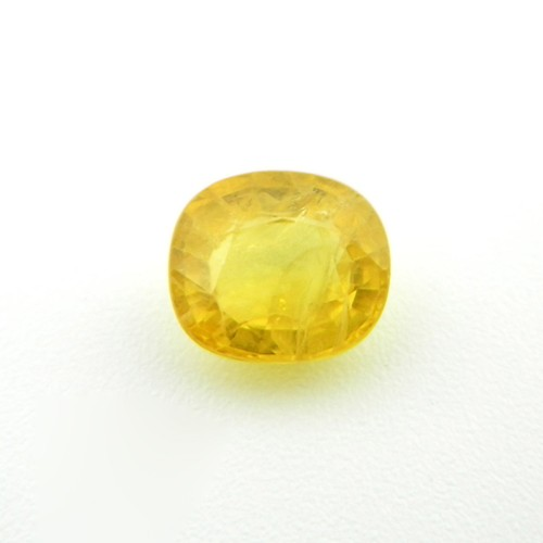 3.43 Carat Natural Yellow Sapphire (Pukhraj) Gemstone