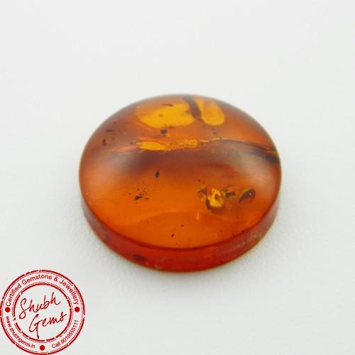 3.60 Carat Natural Amber Gemstone