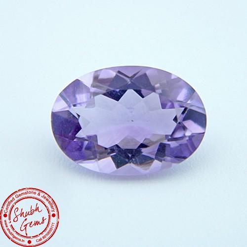 4.64 Carat Natural Amethyst Gemstone