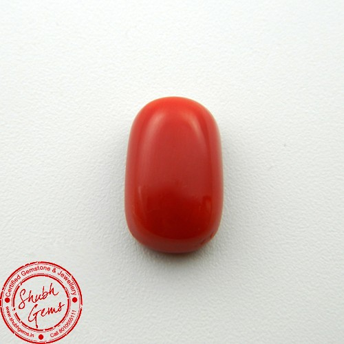6.45 Carat Natural Coral Gemstone