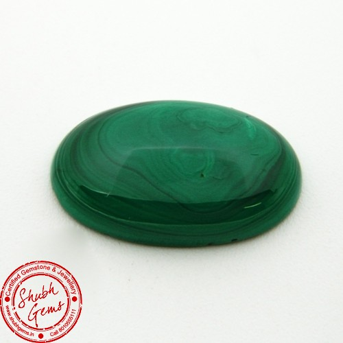 24.68 Carat Natural Malachite Gemstone