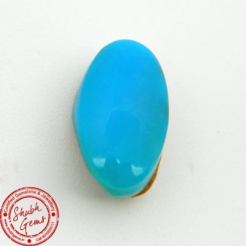 12.75 Carat Natural Turquoise (Firoza) Gemstone
