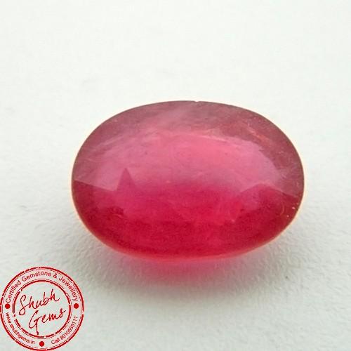 5.23 Carat  Natural Ruby (Manik) Gemstone