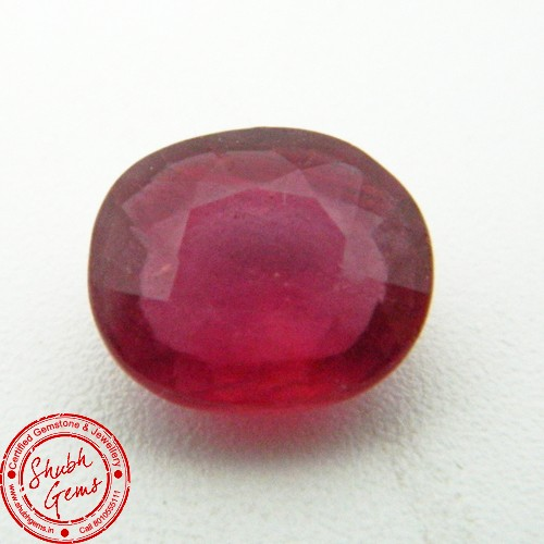 4.63 Carat  Natural Ruby (Manik) Gemstone