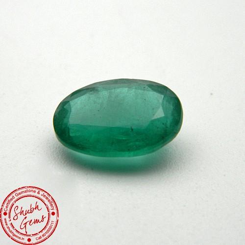 4 Carat Natural Emerald Gemstone