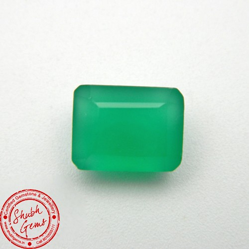 7.42 Carat Natural Green Onyx Gemstone