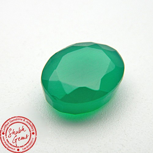 5.99 Carat Natural Green Onyx Gemstone