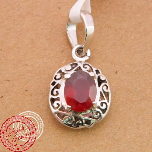 Hessonite (Gomed) (Gomed) garnet  Gemstone   Pendant