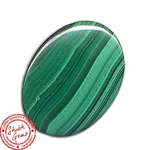 30.02 Carat Natural Malachite Gemstone