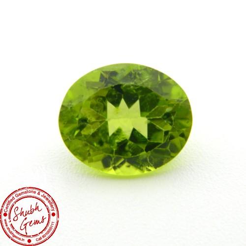5 Carat Natural Peridot Gemstone