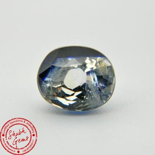 3.79 Carat Natural Particolored Sapphire Gemstone