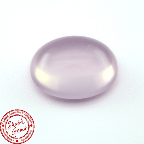6.02  Carat Natural Rose Quartz Gemstone
