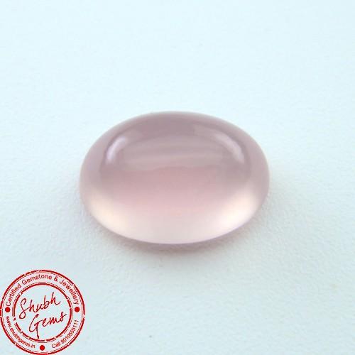 5.70 Carat Natural Rose Quartz Gemstone