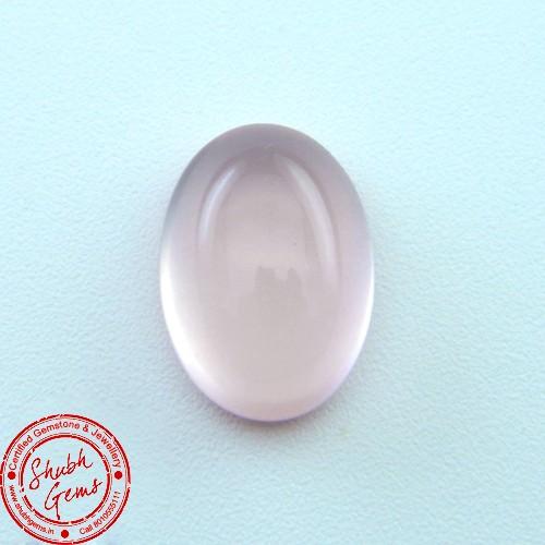6.58  Carat Natural Rose Quartz Gemstone