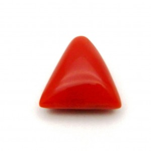 5.90 Carat/ 6.54 Ratti Natural Italian Coral (Moonga) Gemstone