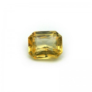 1.84 Carat/ 2.04 Ratti Natural Ceylon Yellow Sapphire Gemstone
