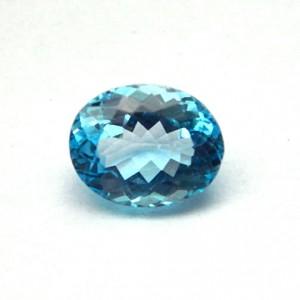 7.72 Carat  Natural Blue Topaz Gemstone
