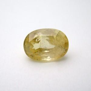 5.70 Carat/ 6.32 Ratti Natural Ceylon Yellow Sapphire (Pukhraj) Gemstone