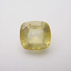 7.60 Carat/ 8.43 Ratti Natural Ceylon Yellow Sapphire (Pukhraj) Gemstone