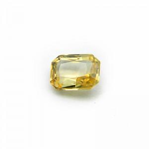 2.19 Carat/ 2.43 Ratti Natural Ceylon Yellow Sapphire Gemstone