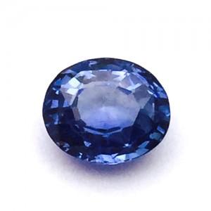 2.37 Carat/ 2.63 Ratti Natural Ceylon Blue Sapphire (Neelam) Gemstone