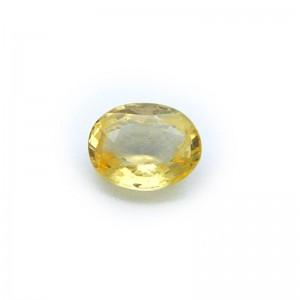 2.60 Carat/ 2.88 Ratti Natural Ceylon Yellow Sapphire Gemstone